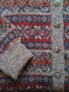shetland knit by designer Wilma Malcolmson