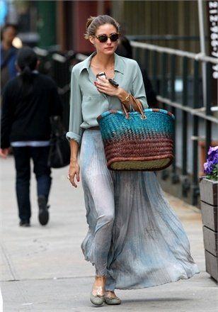 Olivia Palermo fusta lunga