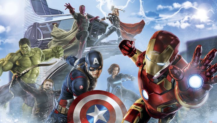 1000 ideas about avengers wallpaper on pinterest man for Avengers wall mural amazon