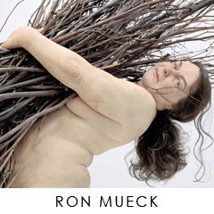 Cartier Foundation for contemporary Art. Ron Mueck Exhibit