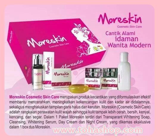 Moreskin Cosmetic Skin and Care dari Nasa