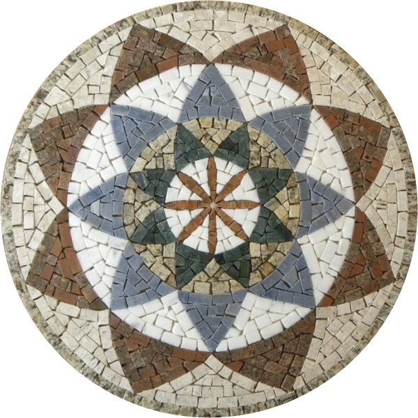 mandala mosaico - Buscar con Google