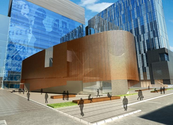 Centre hospitalier de l'Université de Montréal Centre hospitalier de l'Université de Montréal (CHUM)  Montreal, Quebec by Cannon Design
