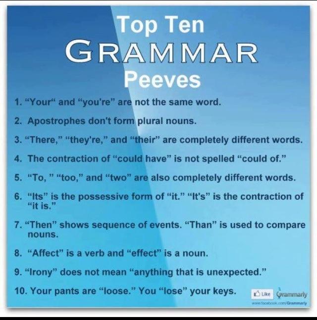 This pretty much sums up Abeka grammar.