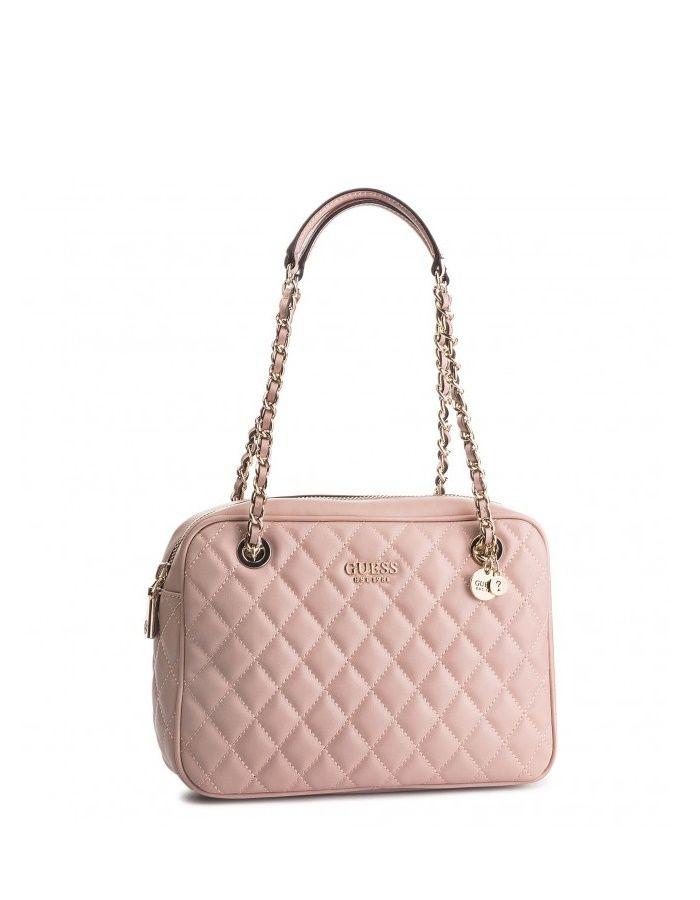 Bellísimo bolso bandolera de la marca Guess #rosa #primavera