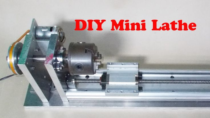 homemade wood metal mini mill lathe diy milling router cnc