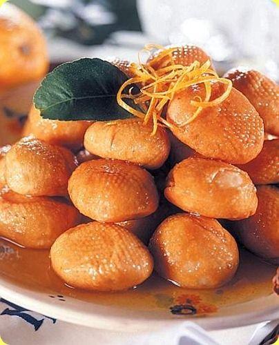 Turtiddi tipici tortelli fritti della cucina calabrese.