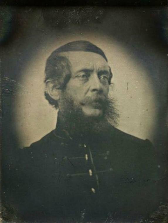 Kossuth Lajos portréja, 1852.