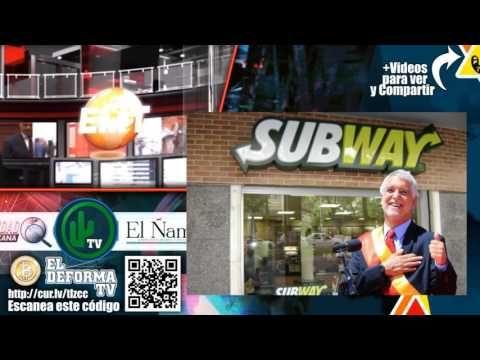 Peñalosa inaugura Subway y afirma que ya cumplió
