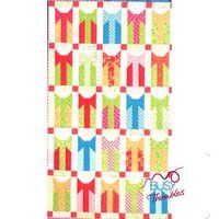 """Its a wrap  A cute Jelly Roll pattern for Christmas  Finished size: 72"""" x 42"""""""