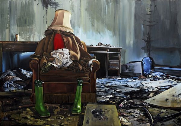 Surreal Narrative Paintings of Abandoned Objects  by Alison Nastasi. Posted on 6:00 pm Thursday Jul 26, 2012    +  Swiss artist Till Rabus— who we first became familiar with on website Booooooom —creates bizarre, hyppereal paintings of abandoned objects and trash