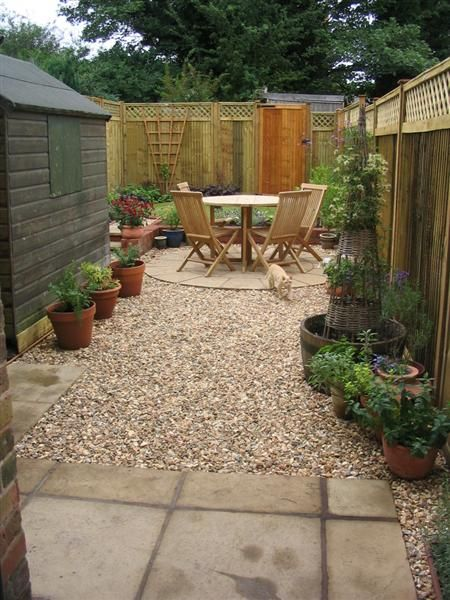Circular Traditions - A small, low-maintenance Victorian ... on Back Garden Seating Area Ideas  id=43441