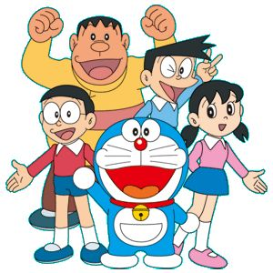 Gato Cosmico Doraemon and lots of classic Japanese anime