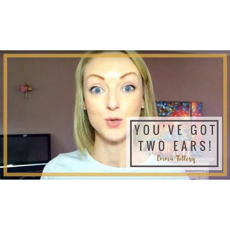 Youve got two ears for a reason! Catch the full video on my YouTube channel http://ift.tt/2sxEQzX #coach #speaker #motivation Lets connect on facebook: http://ift.tt/2gq1dB7