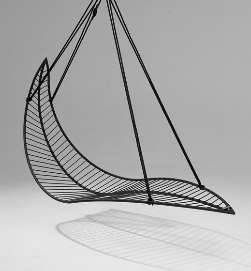 Leaf hanging swing chair by Studio Stirling                                                                                                                                                      More