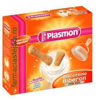 Plasmon  Biscuiti  Biberon cu gluten