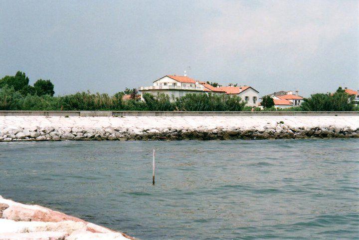 L'abitazione di H.P. a Malamocco.