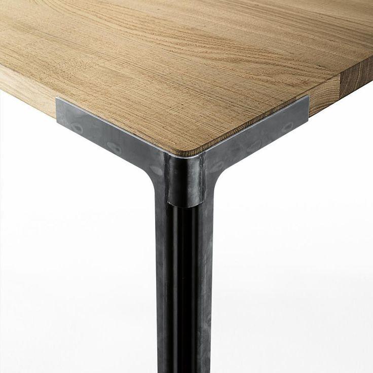 Le 20 migliori idee su tavoli in legno finitura su for Lamiera corten prezzo