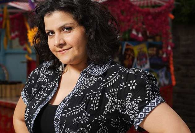 Nina Wadia could play Sanjay's mother, but she'd need a lot of make-up to age her.