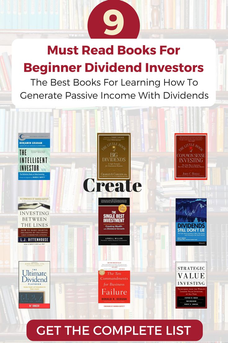Want to generate a passive income stream? These 9 books for beginning investors will teach you how to generate passive income from dividend investing.
