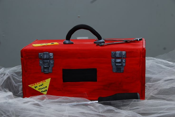 Workman's Toolbox Cake