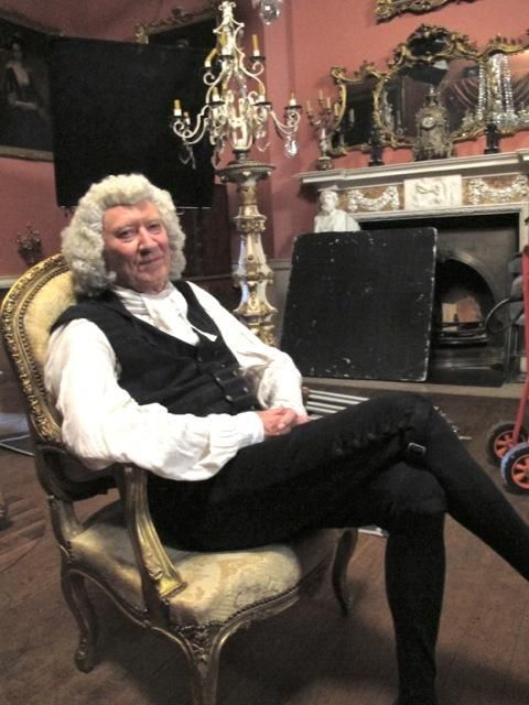 Via Robin Ellis @RobinPoldark - Don't be fooled by the smile--this old gent is poison!