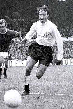 Jimmy Greaves, my all time Spurs hero, hope he has a great night at his benefit and hope he recovers from his recent illness.