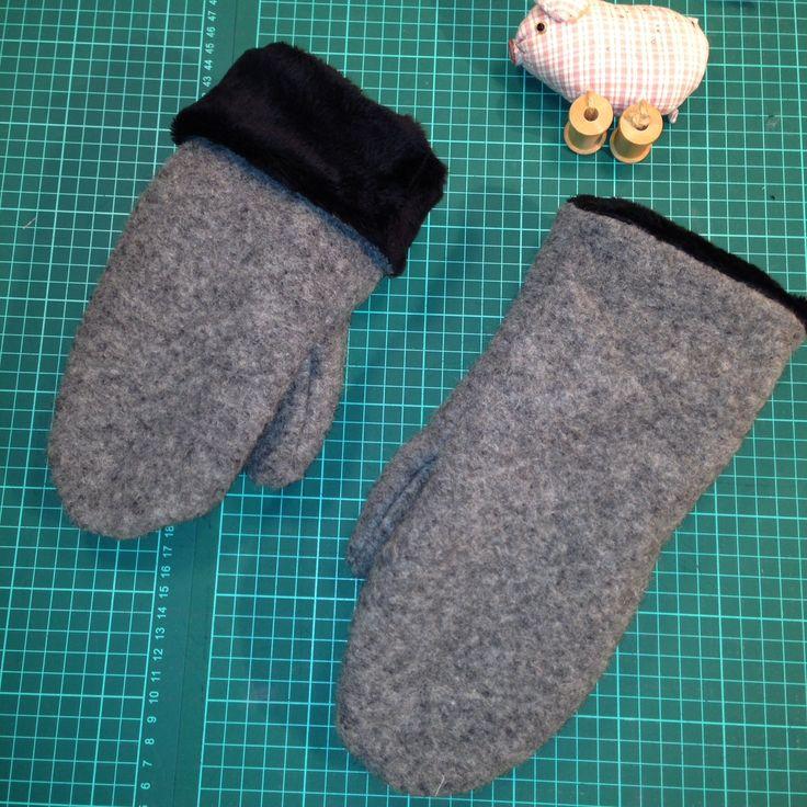 Handsker - mønster og stof fra Stoff og Stil. November 2015 - #hannemusen