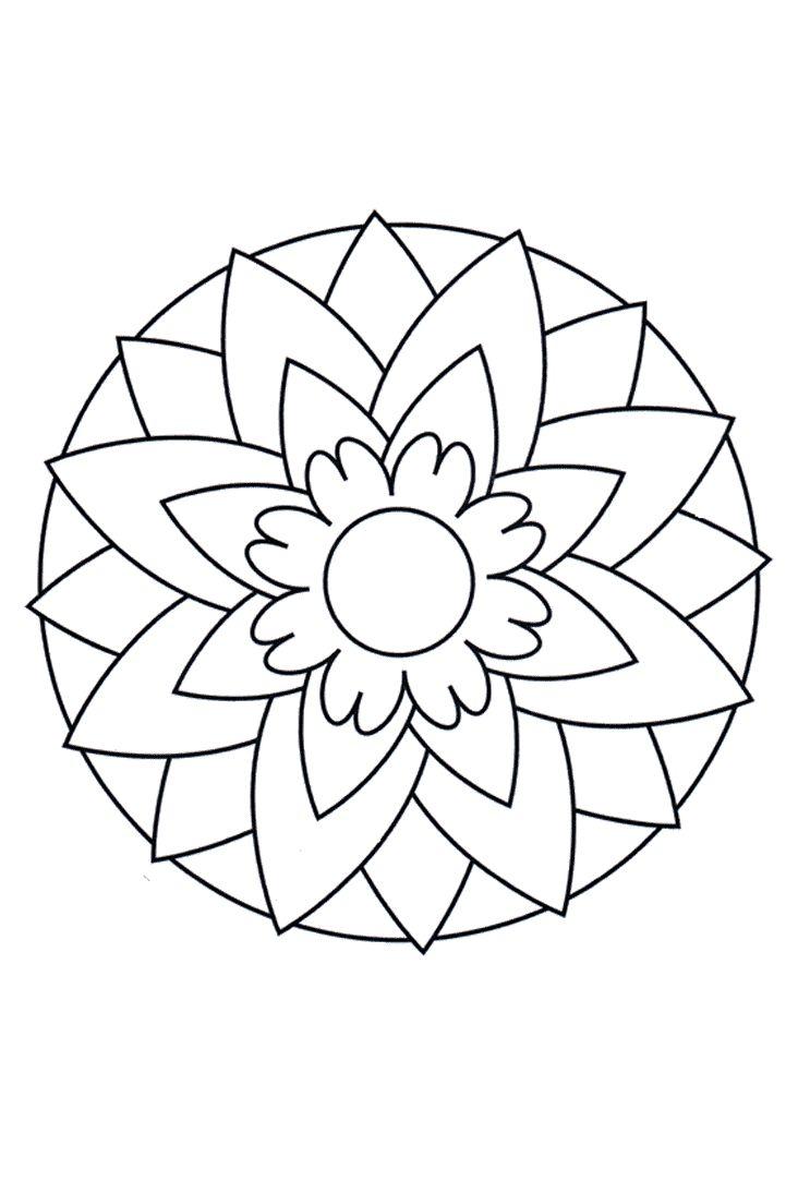 25  beste idee u00ebn over bloemen mandala op pinterest