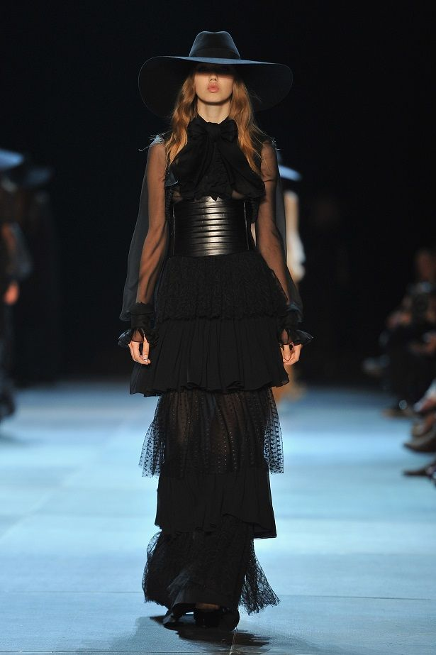 The best looks from Paris Fashion Week 2013 Saint Laurent
