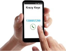 Krazy Keys offer 24/7 locksmith services for your car, home or workplace. Call 1300057299 for the closest locksmith near you to arrive within a minutes!