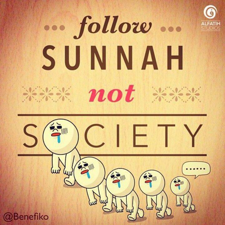 Mengikutlah pada sunnah