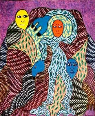 Saint Soleil Haitian Artist !