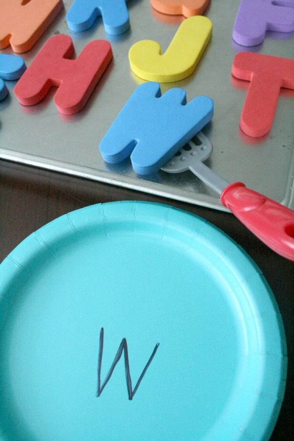 ABC Cookie Letter Matching Alphabet Game for Preschoolers