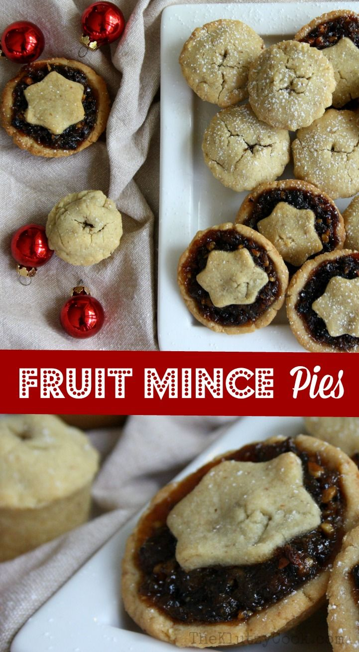 Fruit Mince Pies are a traditional Christmas sweet.  These little morsels are a must during the festive season and taste so much better when homemade.