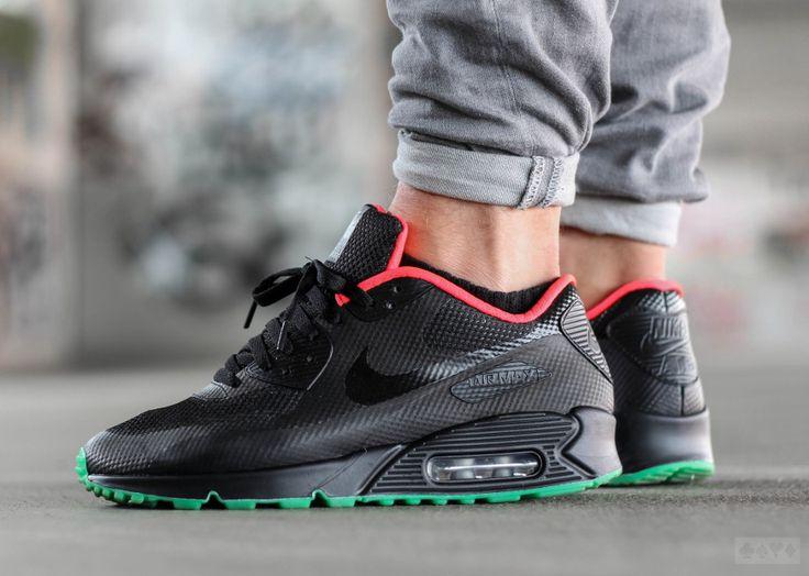 the best attitude 827db 8cdd8 ... Nike Air Max 90 Hyperfuse Id Yeezy Zwarte Heren Sportschoenen Goedkope  Verkoop air max 90 solar red - Google Search . ...