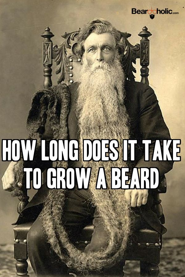 How Long Does It Take To Grow A Beard
