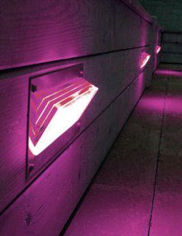 lighting steps. brik flush led step wall light lighting steps