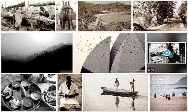 Intia-aiheisia musiikki- ja matkavideoita: Kuvat ja musiikki Indivue