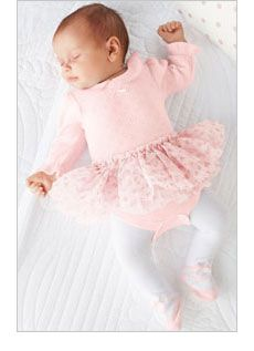 Ballerina baby girly pink baby kids fashion children's fashion photography