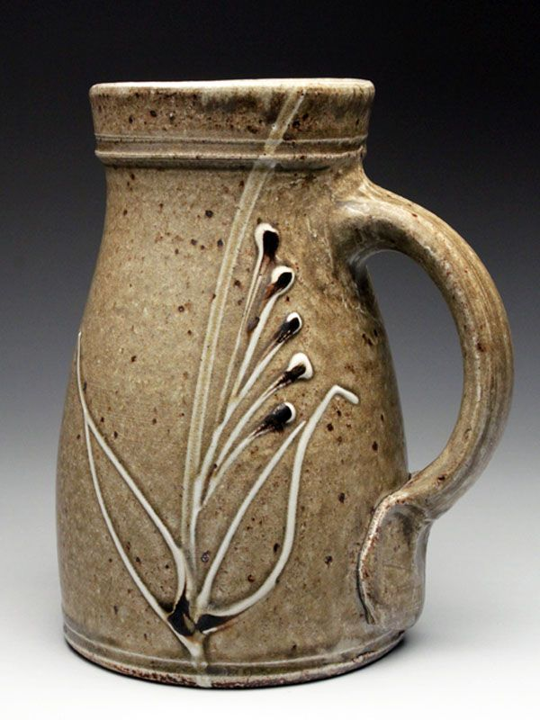 Alex Matisse Wood Fired Stein at MudFire Gallery
