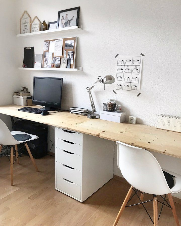 7 Amazing Home Office Ideas Will Make You Want To Work Office Desk Ideas Of Office Desk Officedesk Home Office Design Small Home Office Home Office Space