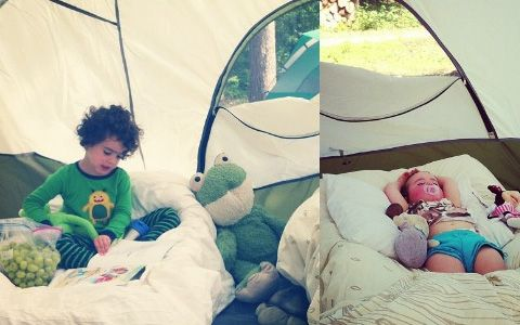 10 TIPS FOR CAMPING WITH TODDLERS: Camping with toddlers: not for the weak, but can definitely be enjoyed. Honest!