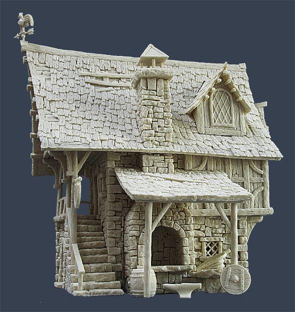 Fantasy terrain by Tabletop World (14th September 2013: Blacksmith's Forge released) - Forum - DakkaDakka | Please don't feed the trolls!