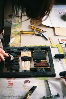 #AdamPoltorak #typography #workshop #letterpress #workinprogress