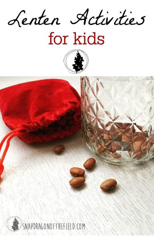 Observe Lent with preschool and toddler aged kids using the easy and inexpensive activities of a prayer chain and kindness jar.