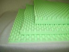"Environmentally Friendly Convoluted Foam Hospital Bed Pad 3"" QTY: 1 by Val Med. $38.98. VAL MED. Fit standard hospital beds.. 3"". Quantity: 1. Eco-friendly, ""eggcrate"" foam bed pads provide superior weight distribution, support, comfort, and pressure relief.. Eco-friendly, ""eggcrate"" foam bed pads provide superior weight distribution, support, comfort, and pressure relief. Fit standard hospital beds. New green technology provides comfort and quality foam products from pl..."