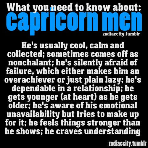 How to tell a capricorn man likes you