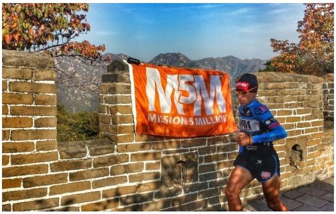 He made it – M5M China Run completed! Jason took on a challenge to be the first individual to run the length of the Great Wall of China in 100 days! #china #greatwall #mannacommunity #m5m #mission5million #mannatechaustralasia
