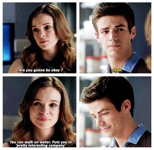 The Flash - Barry and Caitlin #1.5 #Season1 #Snowbarry ♥
